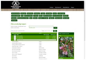 planten webshop tuin